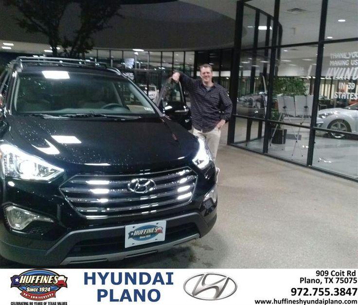 #HappyAnniversary to Troy Scillian on your 2014 #Hyundai #Santa Fe from Everyone at Huffines Hyundai Plano!