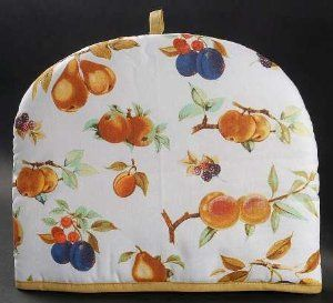 Royal Worcester Evesham Gold (Porcelain) Cloth Tea Cosy, Fine China Dinnerware by Royal Worcester. $13.99. Royal Worcester - Royal Worcester Evesham Gold (Porcelain) Cloth Tea Cosy - Porcelain,Various Fruits,Gold Trim