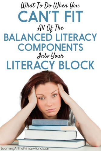 ALT TEXT: Can't fit it all in? Check out this post for ideas about how to save time during your Kindergarten, first grade, or second grade literacy block.