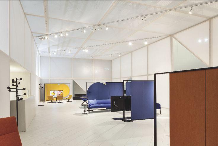 Arper Workspace booth Milano 2017 / creative direction Studio Altherr / architecture Maio architects / Foto Marco Covi