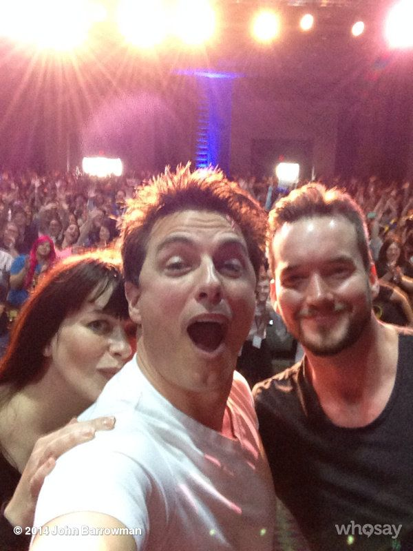 Shared From John Barrowman Official The Three Stooges! At megacon Torchwood Jb