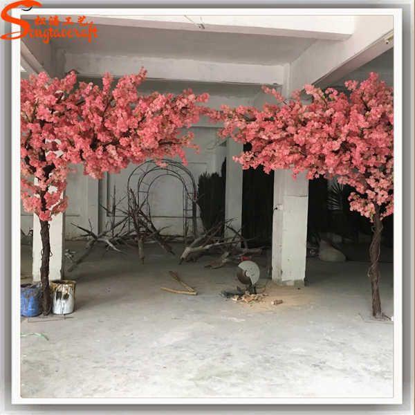 Wholesale Romantic Decoration Large Artificial Blossom Tree Sakura Branches Artificial Cherry Trees From M Alibaba Blossom Trees Tree Branch Decor Cherry Tree