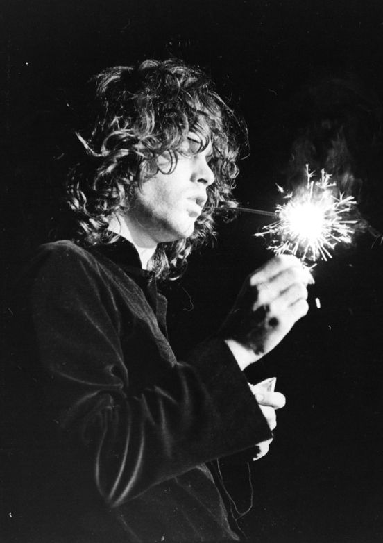 Jim Morrison on stage at Arizon Veterans Memorial Coliseum, 1968.