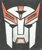 Autobot insignia - Ratchet (TFP) by LadyIronhide