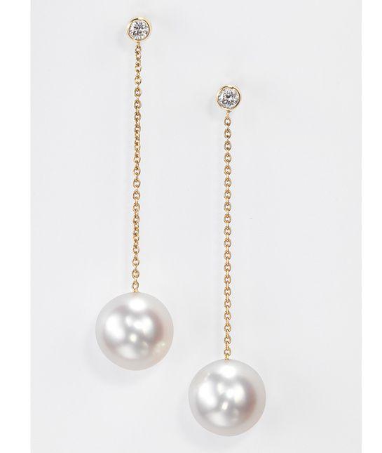 Boucles d'oreilles Tecla Cascade de perles http://www.vogue.fr/joaillerie/shopping/diaporama/bijoux-boucles-d-oreilles-perles/18373/image/994086#!boucles-d-039-oreilles-tecla-cascade-perles