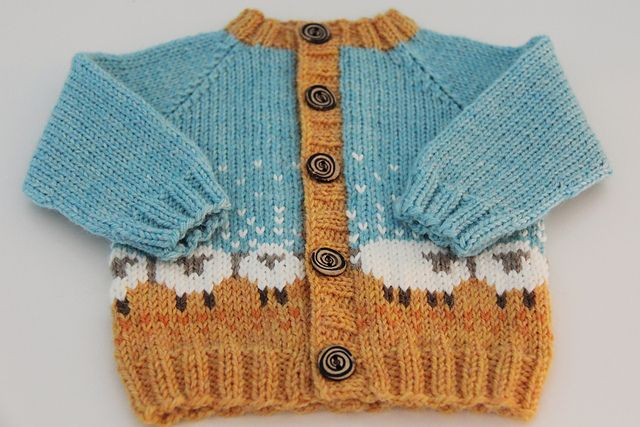 Ravelry: MySweetSabina's Baby Baa-ble - a great adaptation from the Baa-ble hat. Love it!