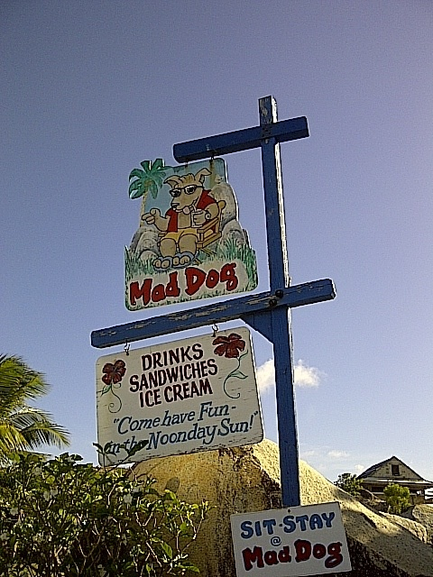 Mad Dog Restaurant - Virgin Gorda - bareboatsbvicom