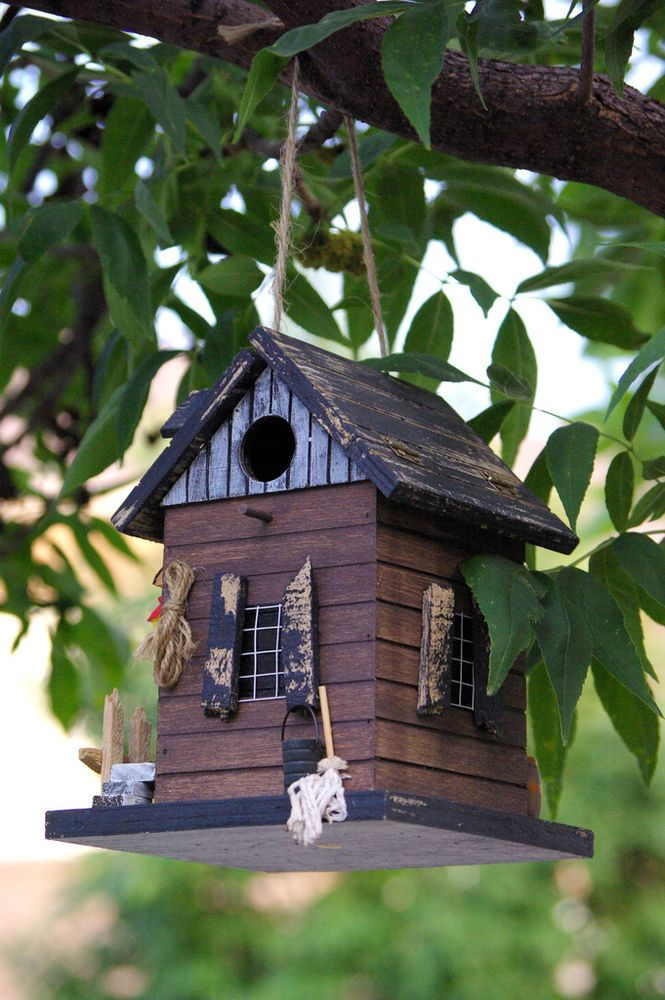 PHOTOS 12 Birdhouses That Are Almost As