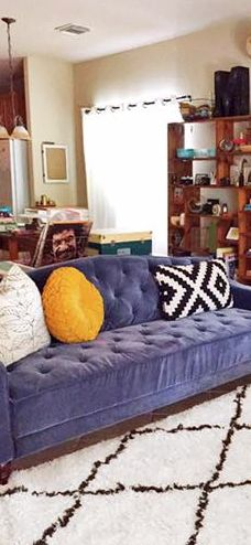 Pin By Kris Tremblay On A Love Of Home Pinterest Tufted Sofa And Sleeper