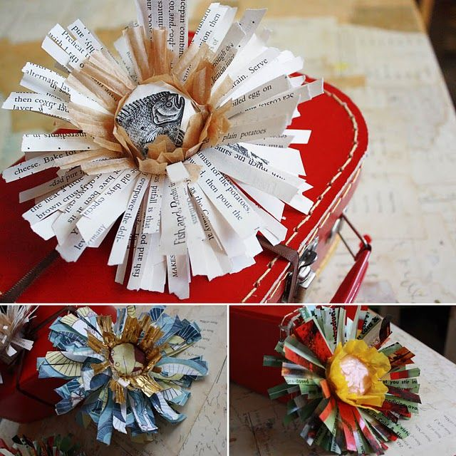 211 best papercraft flowers images on pinterest fabric flowers papercraft flowers diy tutorial via windy robinson mightylinksfo