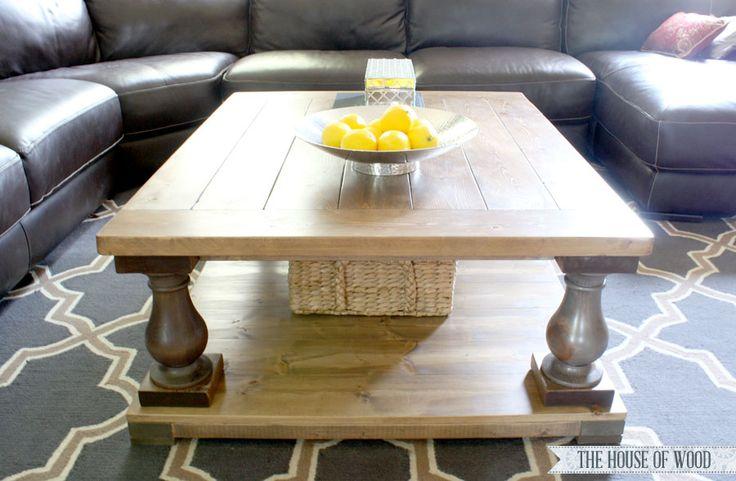 523731a2f2972e306e1cd8b9123c08c1  coffee table plans diy coffee table Balustrade Salvaged Wood Coffee Table