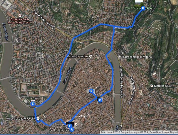 Visita ai luoghi di maggiore interesse di verona   https://www.google.com/maps/d/edit?mid=zqOydDGyDD50.k7b9imebR97k