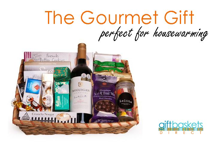 A perfect collection of sweet and savoury favourites, coupled with the award winning Australian McGuigan Shiraz. It's a perfect housewarming gift for everyone to enjoy! http://goo.gl/fpXOc4 #GiftBaskets   #GiftHampers   #HousewarmingGifts