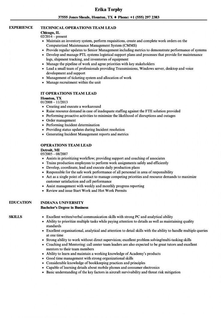 Explore our sample of team leader job description template