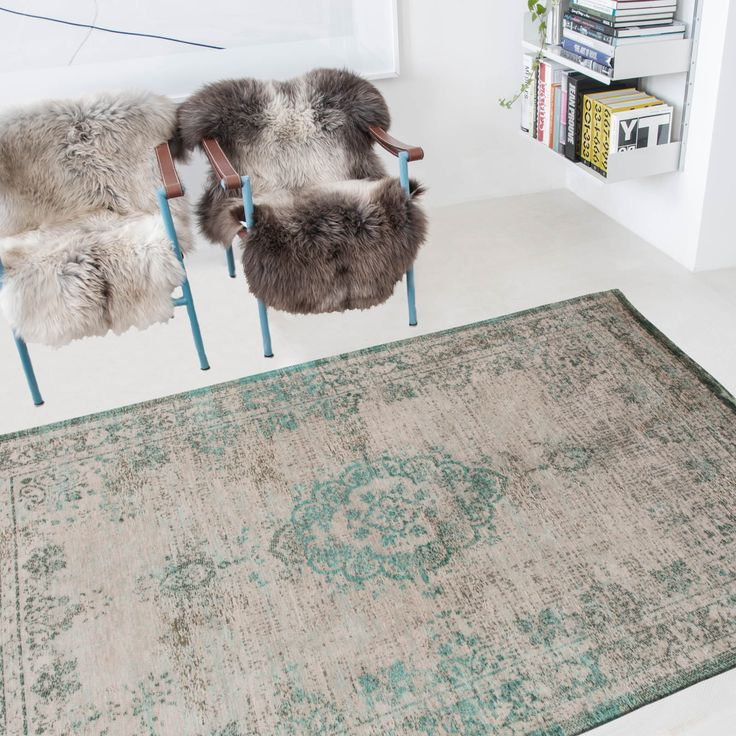 The Louis De Poortere Fading World Rugs Offer A Distressed, Antique Look  That Is Suited