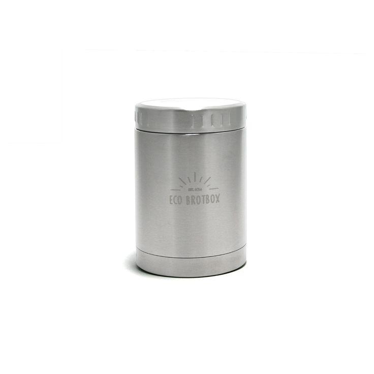 0,5 L Isolierbehälter mit Schraubverschluss aus Edelstahl