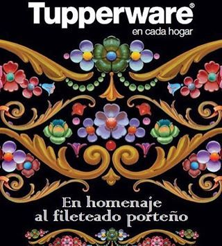 Diseño realizado para Tupperware Argentina #alfredogenovese #fileteado #handpainting #fileteador #handwriting #filete #signwriting #design #tupperware #artist #calligraphy #lettering #buenosaires #argentina