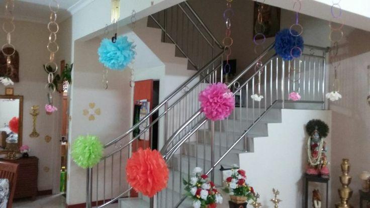 Valaikappu Function Decoration Event Ideas Pinterest