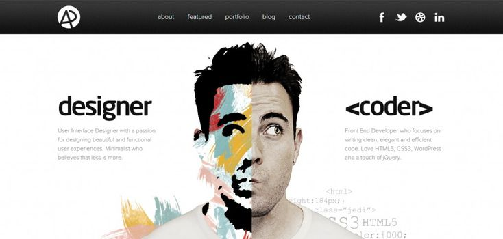 web portfolio design - Google Search