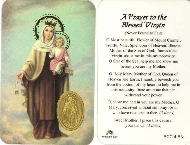 our lady of mount carmel - Google Search