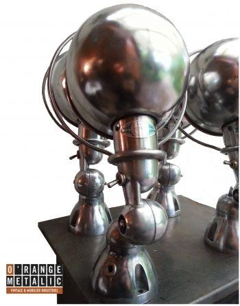 Jieldé Mobilier Industriel O'Range Metalic 5