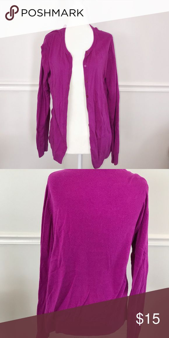 Old Navy Purple Cardigan Perfect for fall and back to school! Purple Old Navy cardigan in good condition! Size Large. I'll steam the wrinkles out before shipping 😉 Old Navy Sweaters Cardigans