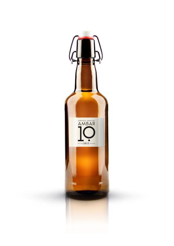 Ambar 10 beer / designed by Estudio Versus