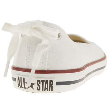 Women's White Converse All Star Dainty Ballerina at schuh