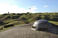 Le Fort de Vaux : Le fort de Vaux est dés le début de la bataille de Verdun, un des objectifs prioritaires de l'offensive allemande. La visite du fort permet de comprendre les conditions de vie quotidiennes des combats assiégés au cœur de la forteresse, acteurs d'un drame héroïque devenu symbole de la résistance du soldat de Verdun.