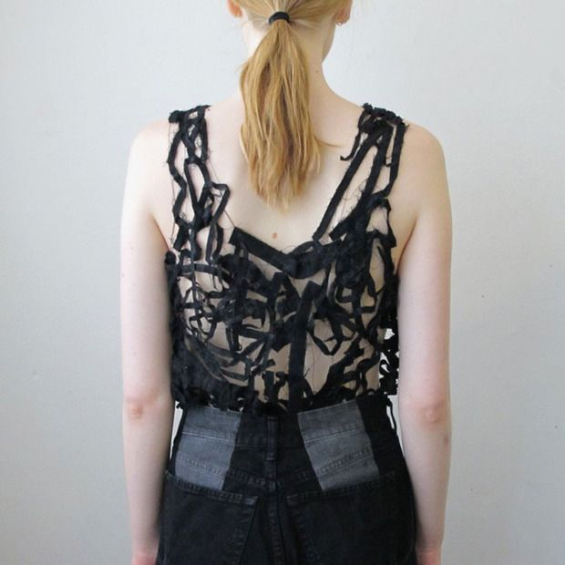 Restructional Clothing by Ninna Berger: This Stockholm-based designer gives new life to failed and discarded attire