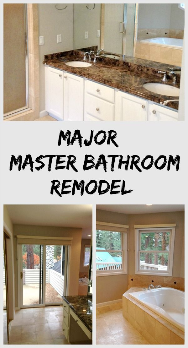 Remodeled Master Bathrooms Remodelling Beauteous Design Decoration