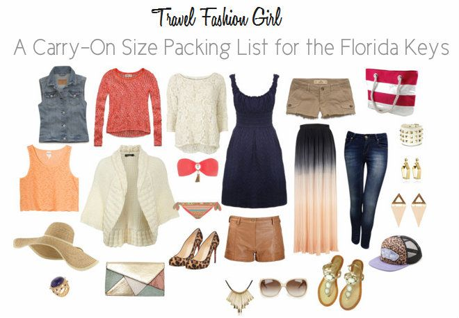 5e5878010b What to Pack for a Florida Keys Vacation | clothes | Summer vacation  packing, Vacation packing, Packing for a cruise