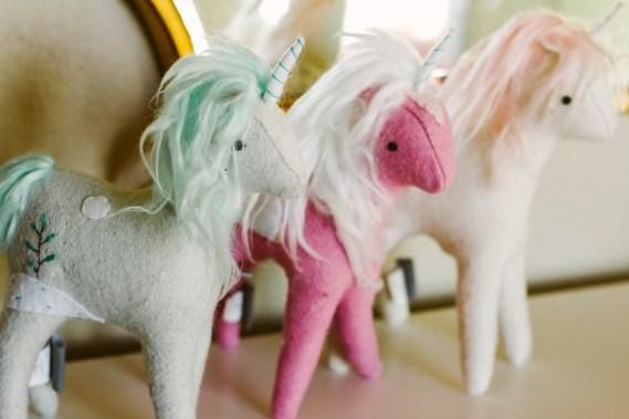 Hello Tiny Love | A Mama Lifestyle Blog featuring our set of Mythical Plush Unicorns