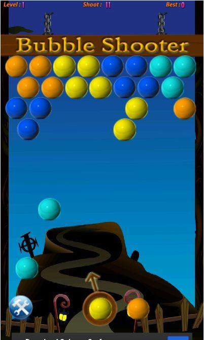 t-online bubble shooter