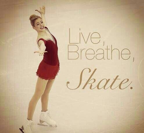 Figure skating - live, breathe, skate