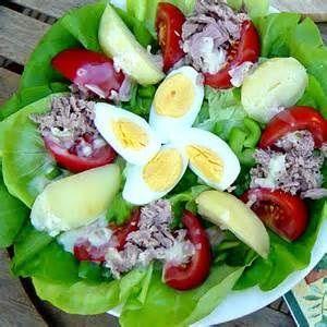 Une salade très satisfaisante!