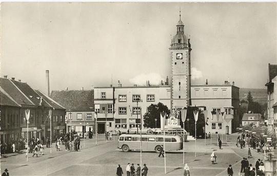 Masarykovo náměstí, 50. - 60.tá léta 20. století