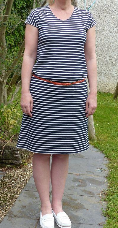 Petite robe marinière vraiment Trop-Top (version A)