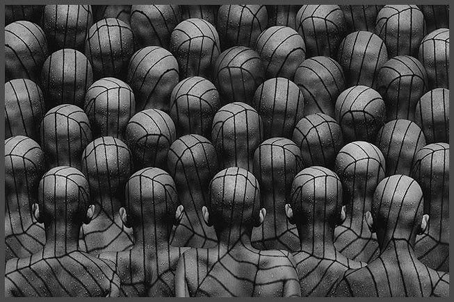 Концептуальная фотография Миши Гордина