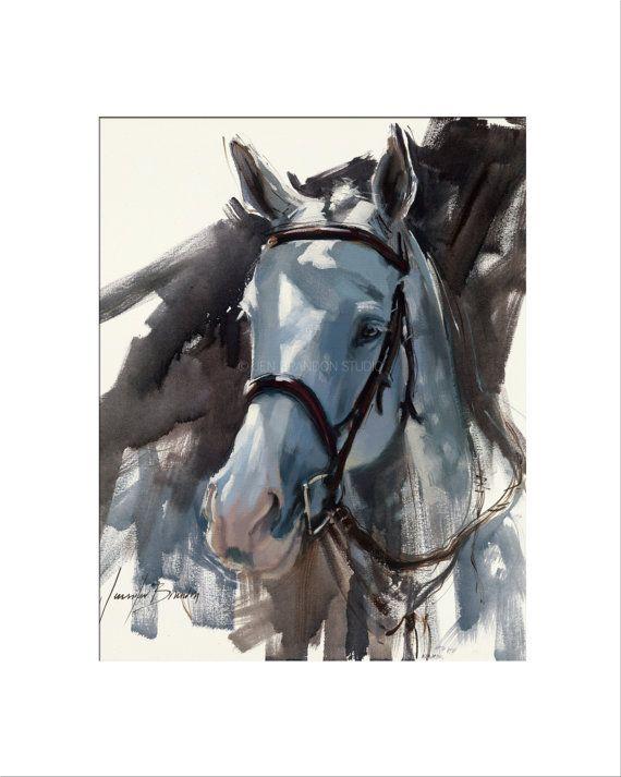 Caballo gris amantes de los animales caballos ecuestre