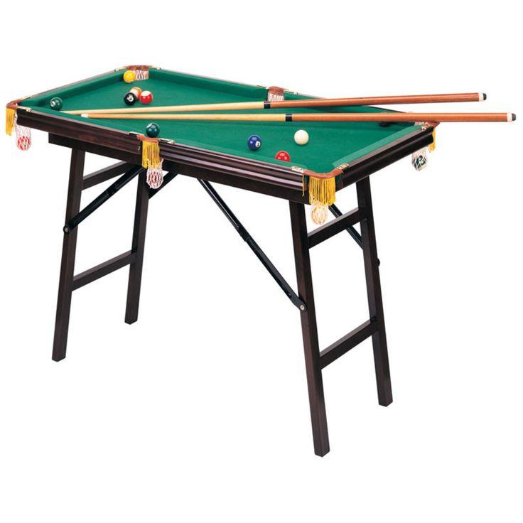 Mini Folding Pool Table - 9007