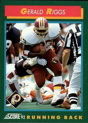 1992-Score-302-Gerald-Riggs