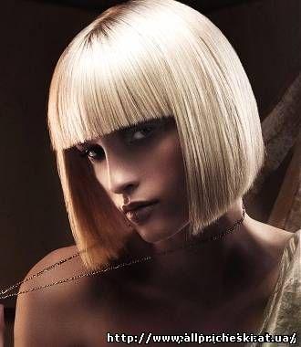 средняя стрижка на волнистые волосы - Средние стрижки