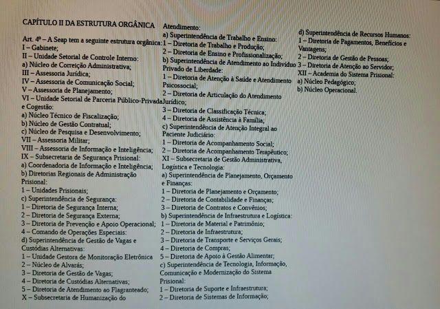ALEXANDRE GUERREIRO: PUBLICADA NO DIÁRIO OFICIAL A NOVA ESTRUTURA ORGÂN...