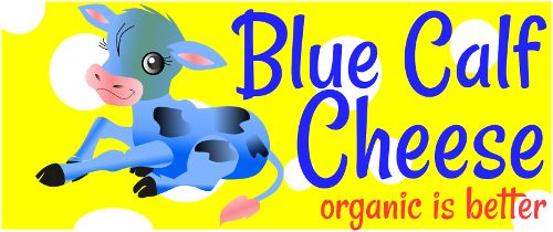 Logo design for Blue Calf Cheese