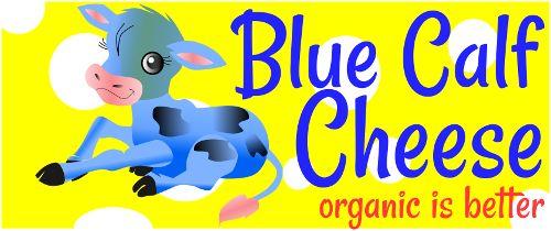 Logo design for Blue Calf Cheese
