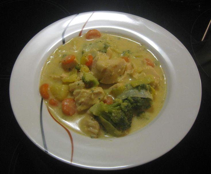 Hähnchen-Gemüse-Topf