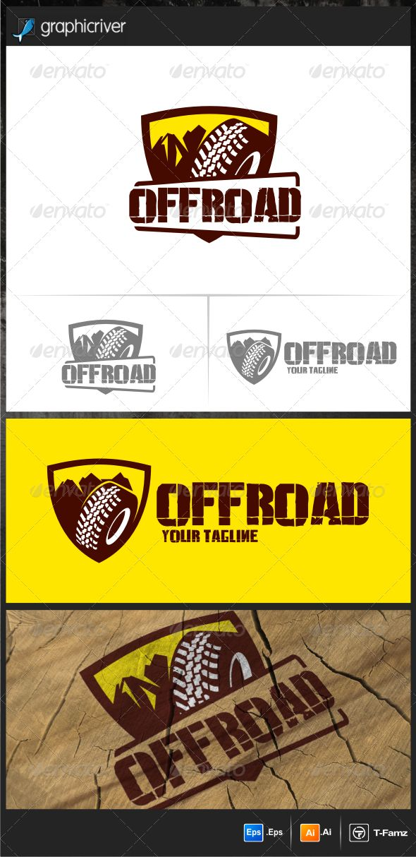 Off Road Logo Templates  #graphicriver