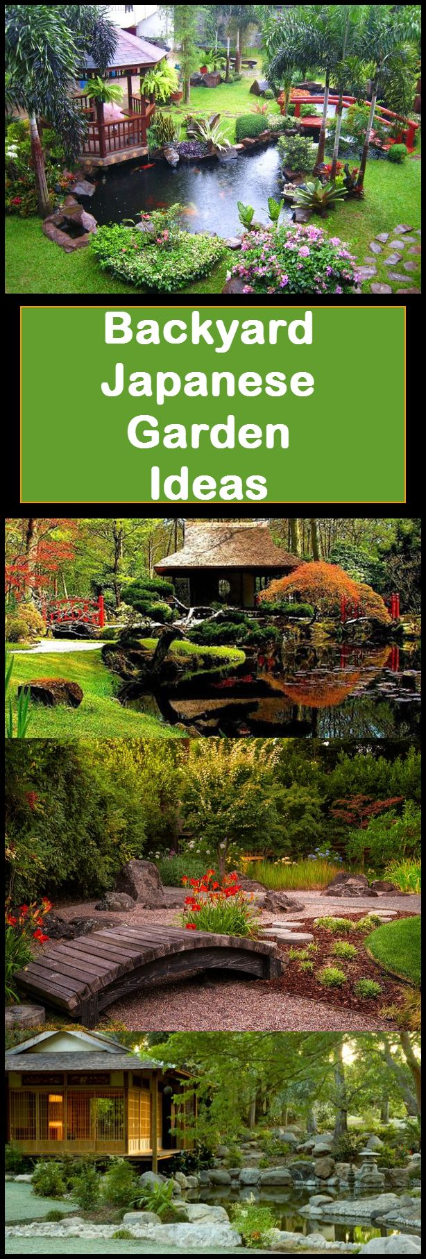If you're looking for a place to unwind in the comfort of your own home, it is a perfectly good idea to create a Japanese garden in your backyard. Here are some tips to help you design your own garden:  http://involvery.com/backyard-japanese-garden-tips-and-ideas/
