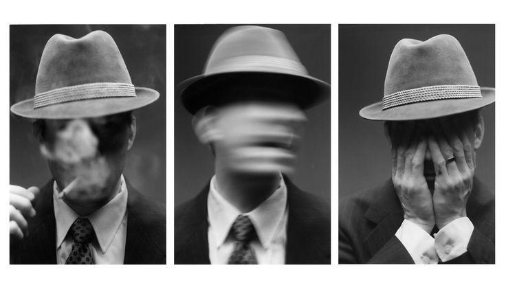 Monochrome, down lighting, long exposure, low key light, portraiture
